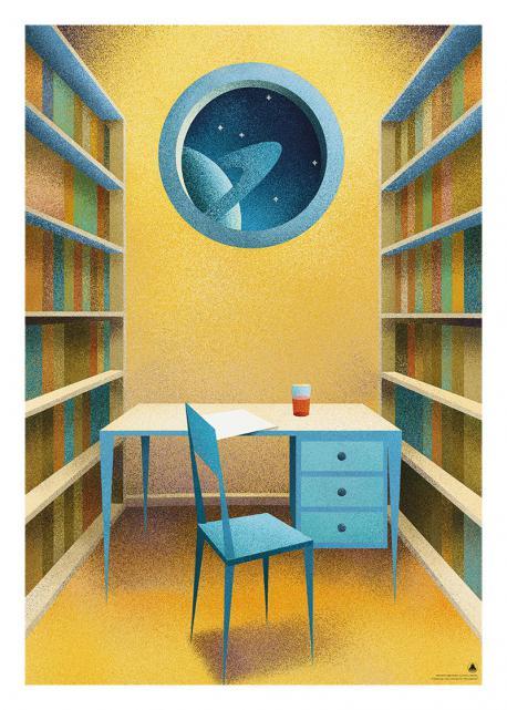 Obraz grafiki użytej na okładce Dzienników gwiazdowych