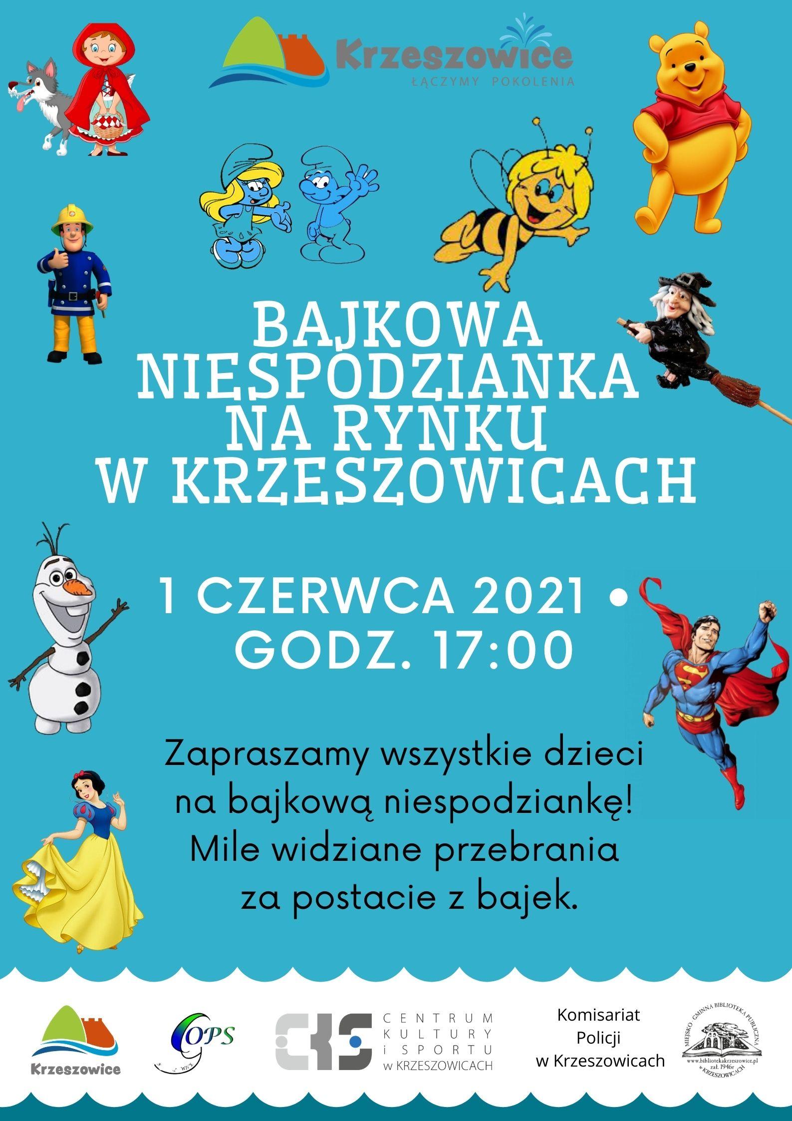 Plakat Niespodzianka w Krzeszowicach