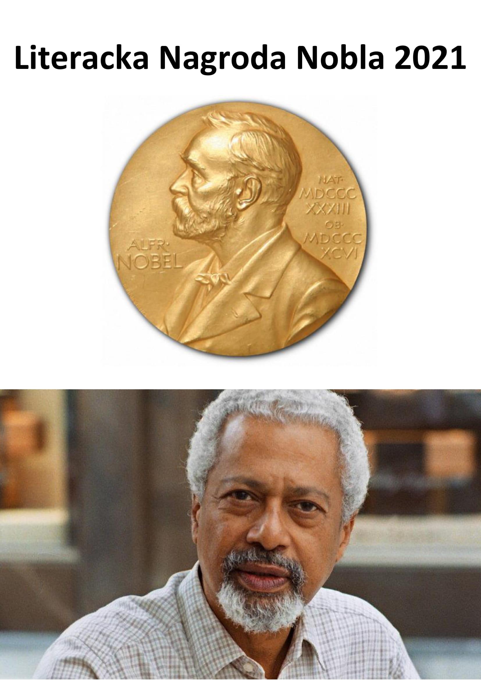 Literacka Nagroda Nobla 2021-1